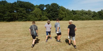 Wilderness Wednesday - Den Building and Campfire Toffee Apples (8yrs+)