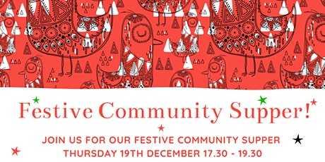 Festive Community Supper tickets