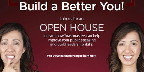 OPEN HOUSE @ THE NORTH TOASTMASTERS tickets