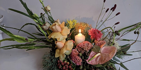 Christmas Centrepiece Arrangement Workshop with Untitled (Flowers) tickets