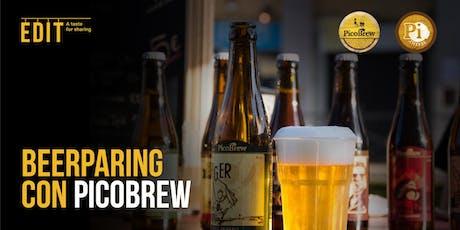 Beer Pairing con PicoBrew biglietti