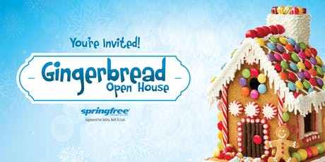 Gingerbread Open House - Springfree Trampoline Coquitlam tickets