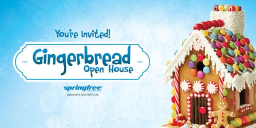 Gingerbread Open House - Springfree Trampoline Coquitlam