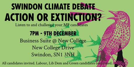 Swindon Climate Debate: Action or Extinction? tickets