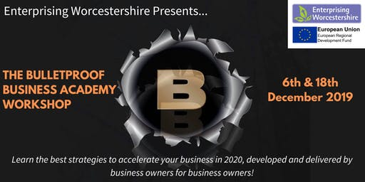 The Bulletproof Business Academy Workshop