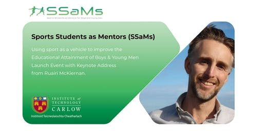Sports Students as Mentors for Boys and Young Men Launch Event