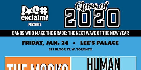 Class of 2020/TO#5: The Mooks, Human Magic, Grizzly Coast, Portland TV tickets