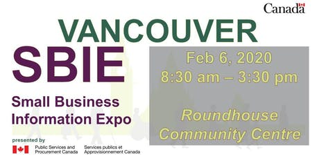 Vancouver Small Business Information Expo (SBIE) 2020 tickets