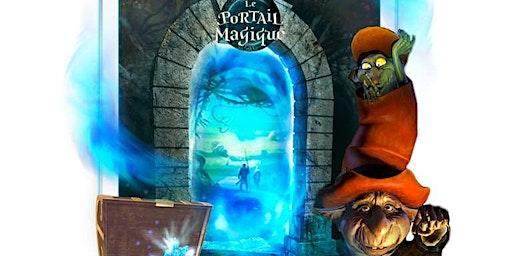 Derrière le portail magique