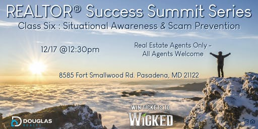 Realtor® Success Summit Series - Situational Awareness & Scam Prevention