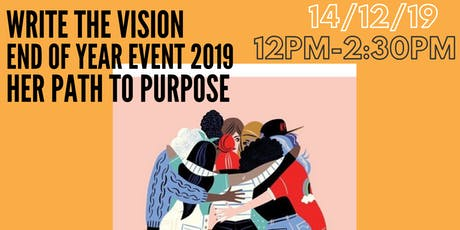 Write The Vision - End of Year Event 2019 tickets