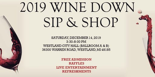 2019 Wine Down SIP & SHOP