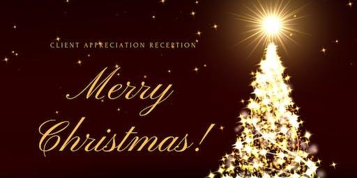 Evening_ Merry Christmas! Client Appreciation Reception