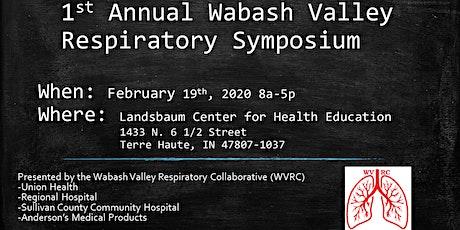 1st Annual Wabash Valley Respiratory Symposium tickets