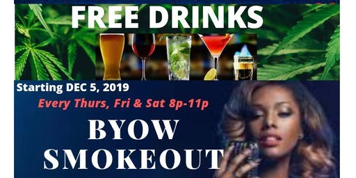 FREE DRINKS SMOKEOUT KARAOKE