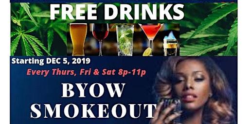 FREE DRINKS SMOKEOUT KARAOKE