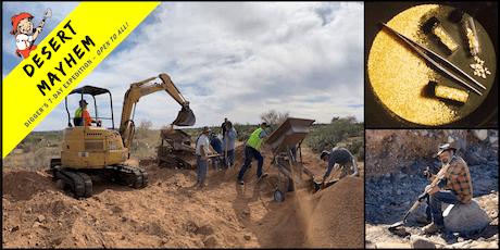 Digger's Expedition: Desert Mayhem - Gold Belt in Arizona tickets