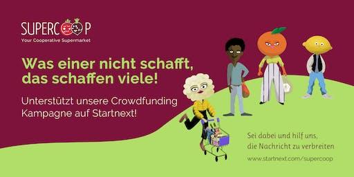 Lass uns einen kooperativen Supermarkt in Berlin aufmachen!