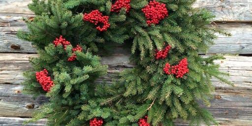 Christmas Wreath Workshop #2