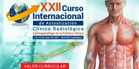 XXII Curso Internacional de Actualización Clínico Radiológico entradas