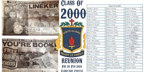 2000 :: 2020 Year Reunion tickets