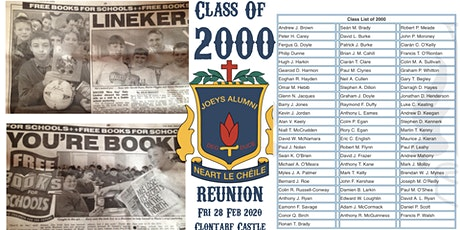 2000 :: 2020 Year Reunion tickets