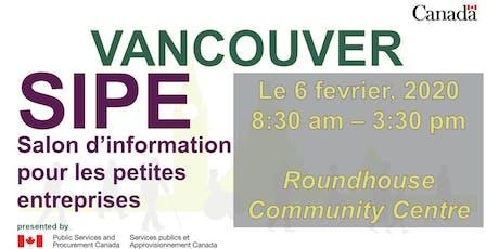 Salon d'Information pour petites entreprises de Vancouver 2020 (SIPE) tickets