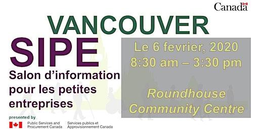 Salon d'Information pour petites entreprises de Vancouver 2020 (SIPE)