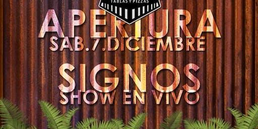 """Signos en """"La Estacion Bar"""""""