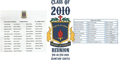 2010 :: 2020 Year Reunion tickets