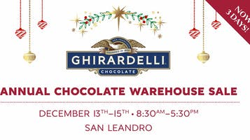 Ghirardelli's Annual Chocolate Warehouse Sale