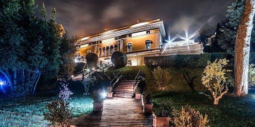 Aperitivo di Natale nell Villa Sublime 1908 di Corso Francia!