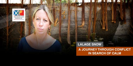 Lalage Snow - A Journey Through Conflict in Search of Calm tickets