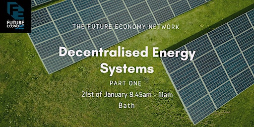 Decentralised Energy Systems Part 1: Bath
