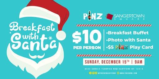 Breakfast with Santa at PiNZ