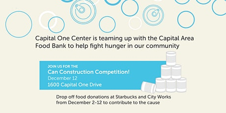 Capital One Center Food Drive - Can Construction Competition tickets
