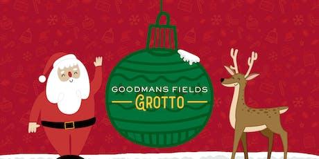 The Goodman's Fields Grotto (Santa's Grotto) tickets