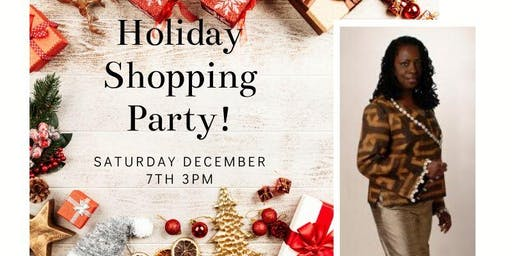 Leighel Desiree Holiday Shopping Party