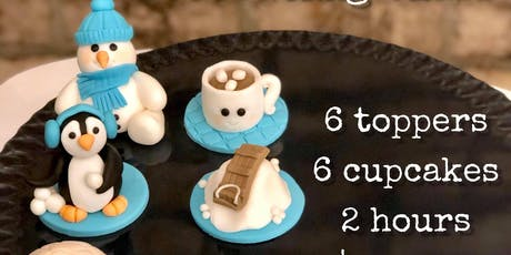 Kid's Winter Cupcake Decorating Class - Jan 4 tickets