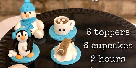 Kid's Winter Cupcake Decorating Class - Jan 4 tickets