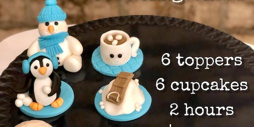 Kid's Winter Cupcake Decorating Class - Jan 4