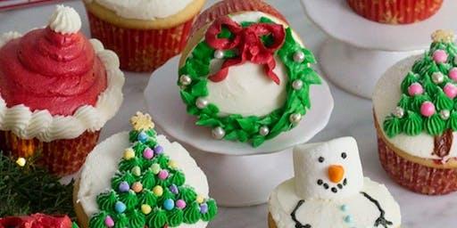Flickerwood Christmas Cupcake Class