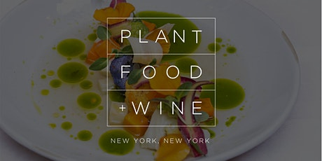 NEW YEARS DINNER + CHAMPAGNE AT PLANT FOOD + WINE NYC tickets