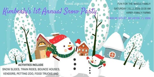 Kimberly Morales' 1st Annual Snow Party