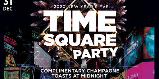 SIP Whiskey & Wine's Time Square NYE 2020 Party