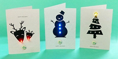 LED Holiday Cards (For Grades 1-5 Only)