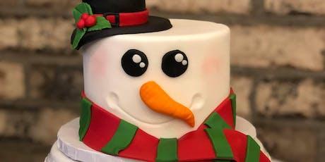 Kid's Snowman Cake Class - January 4 tickets