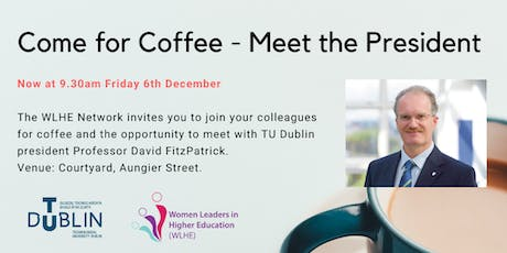 Come for Coffee - Women Leaders in Higher Education event Dec 6th 9.30am tickets