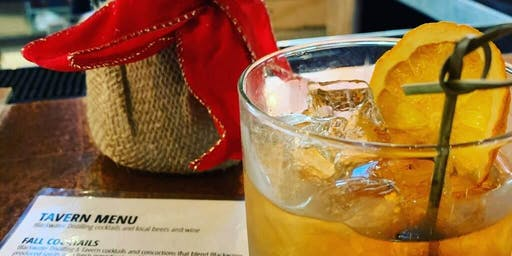 Holiday Cocktail Class Featuring Blackwater Distilling Spirits