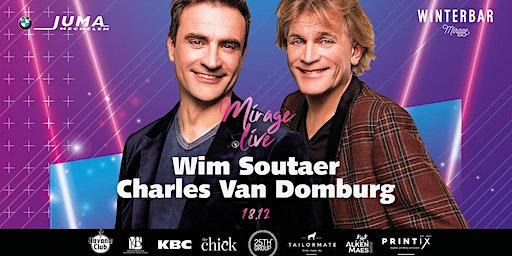 Winterbar Mirage Mechelen: Mirage Live met Soulbrothers Wim Soutaer & Charles Van Domburg
